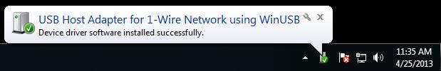1wire installed